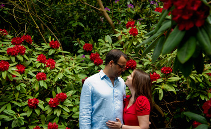 How to stop bad weather from ruining your engagement session photo